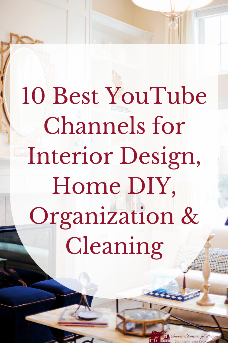 Best YouTube Channels for Interior Design, Home DIY